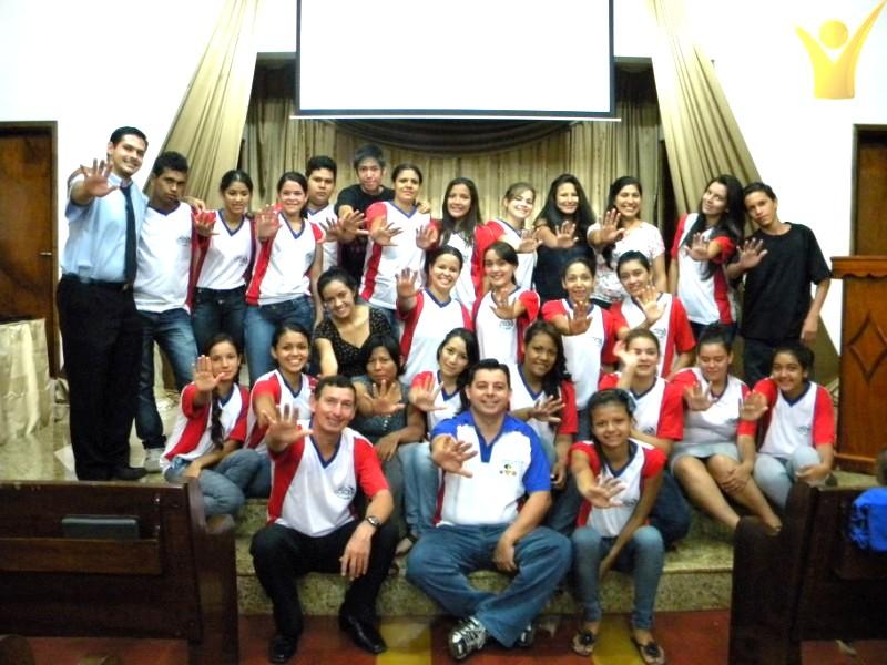Jóvenes Caleb en Paraguay