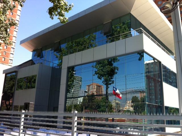 Nueva sede de la iglesia en Chile