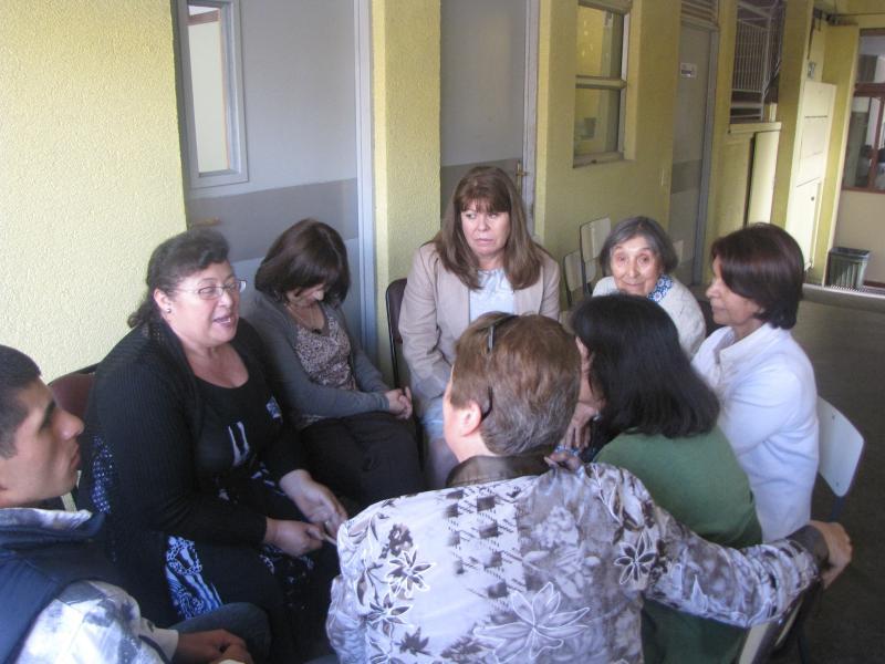 Grupo de oración en Concepción, Chile