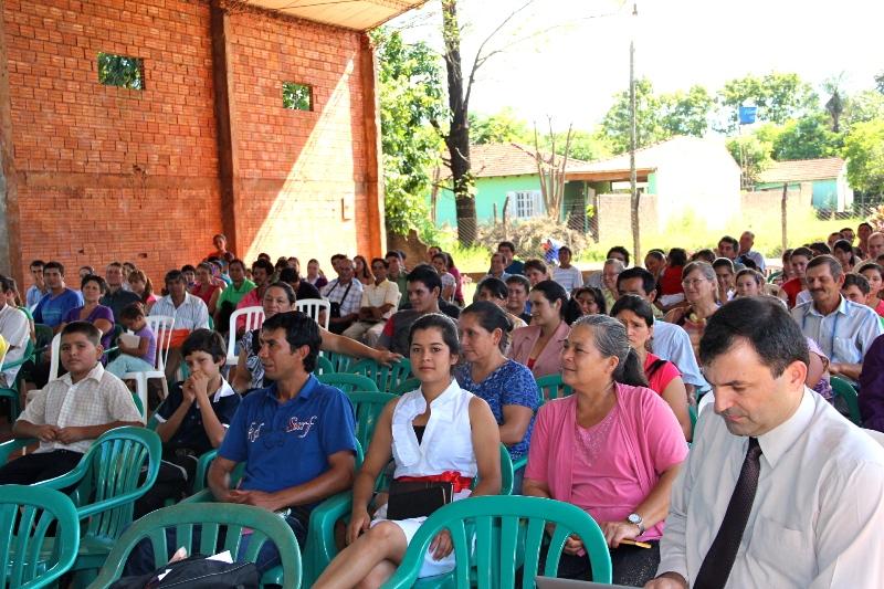 Participantes de la Gira de Poder, en Paraguay.