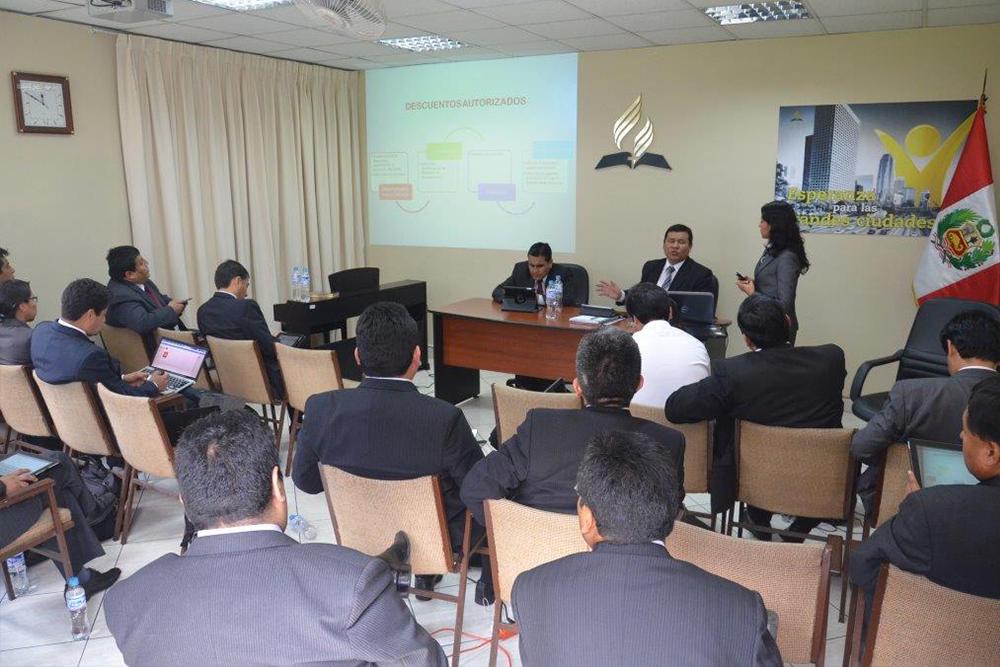 Encuentro de financieros fortalece avance de la obra adventista en Perú