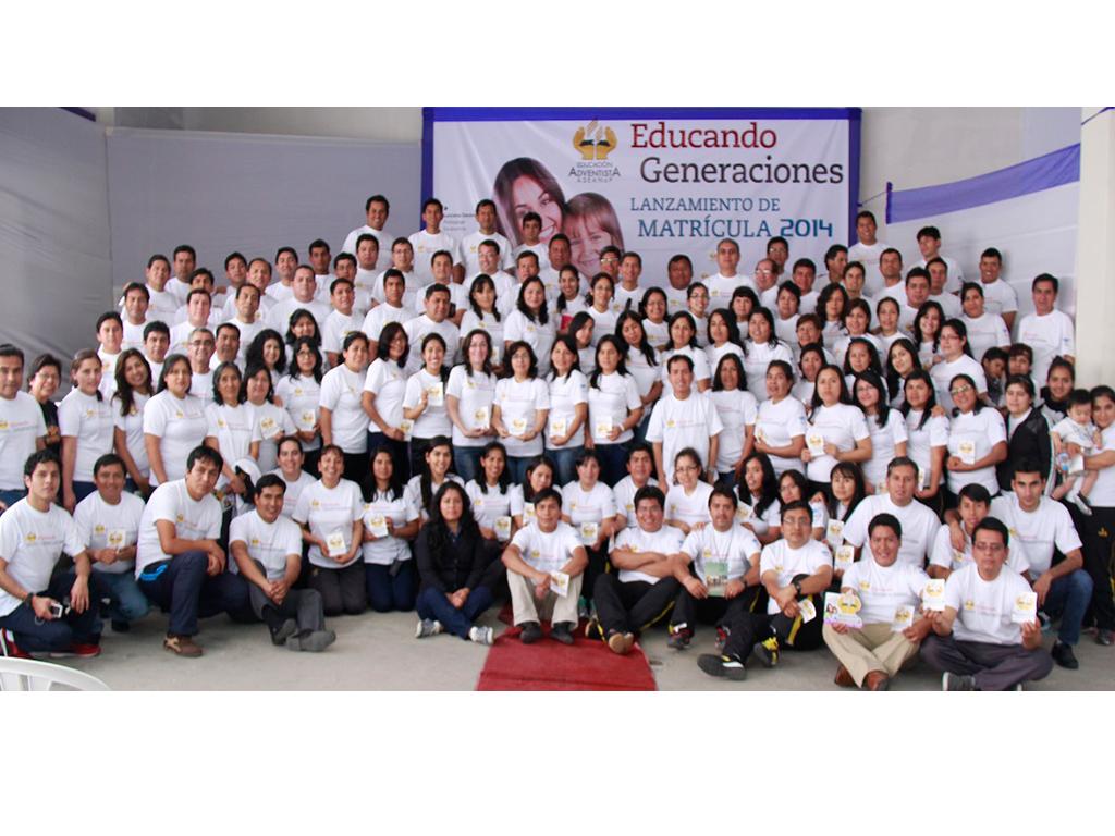 Histórico lanzamiento de matrícula 2014 en Chepén