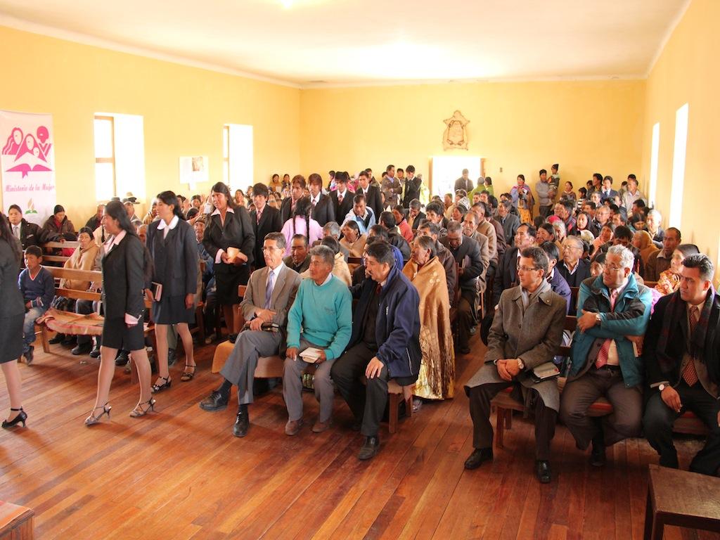 106 años de Iglesia Adventista en Bolivia