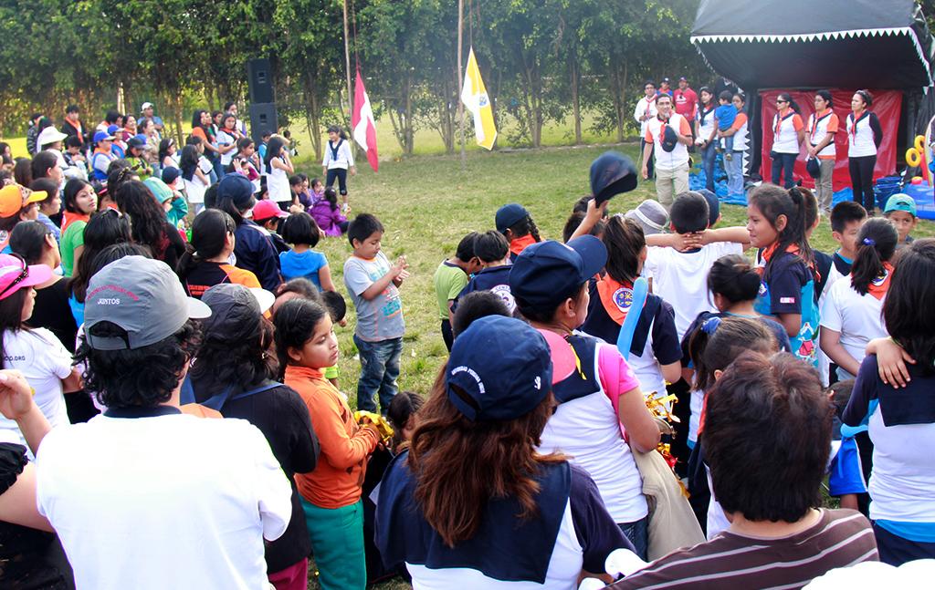 Encuentro Aventuras con Jonás reúne a niños adventistas en Trujillo