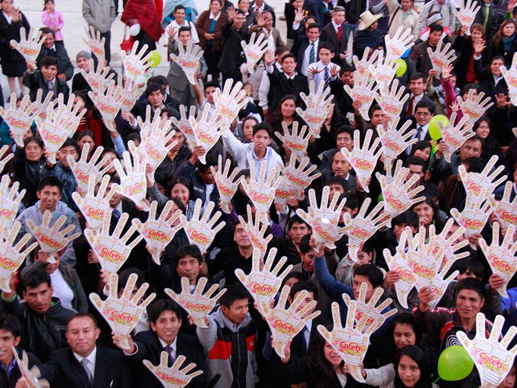 Lanzamiento del proyecto Misión Caleb 6.0 en Cajamarca Peru
