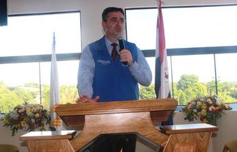 Inauguración de templo adventista en la cárcel de Tacumbú