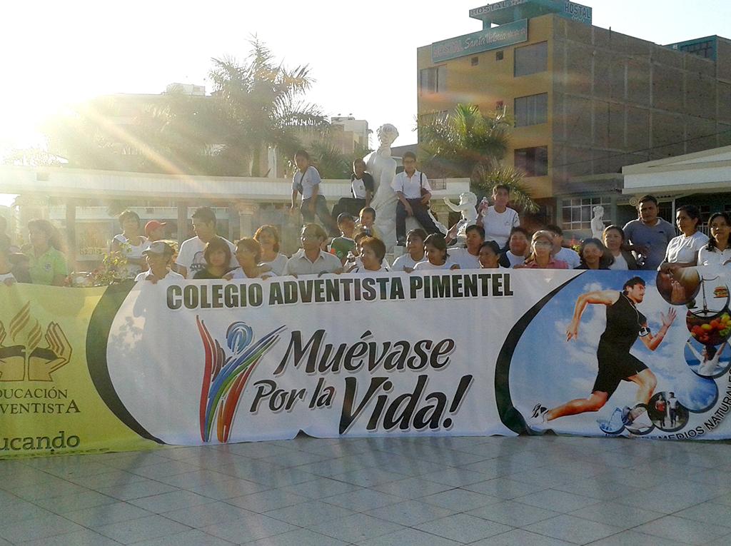 Muevase por la vida impacta la ciudad de Chiclayo