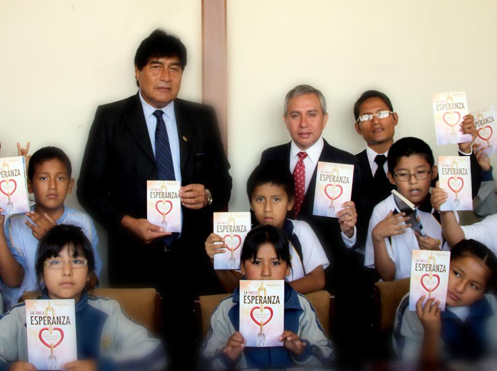 Universidad Nacional en Huacho recibe La Unica Esperanza2