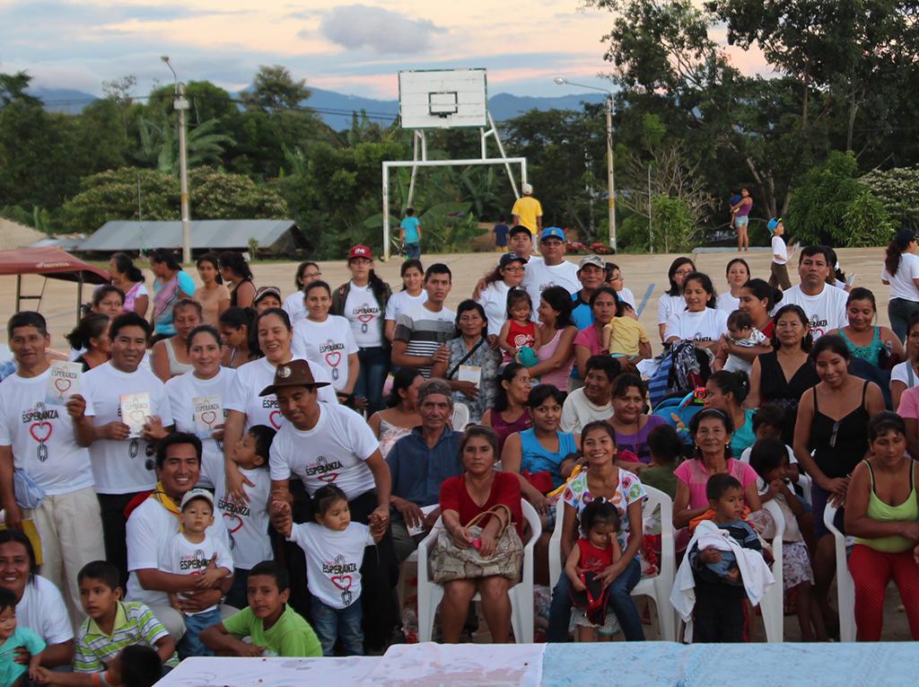 Familias comparten La Única Esperanza en la ciudad de Tarapoto2
