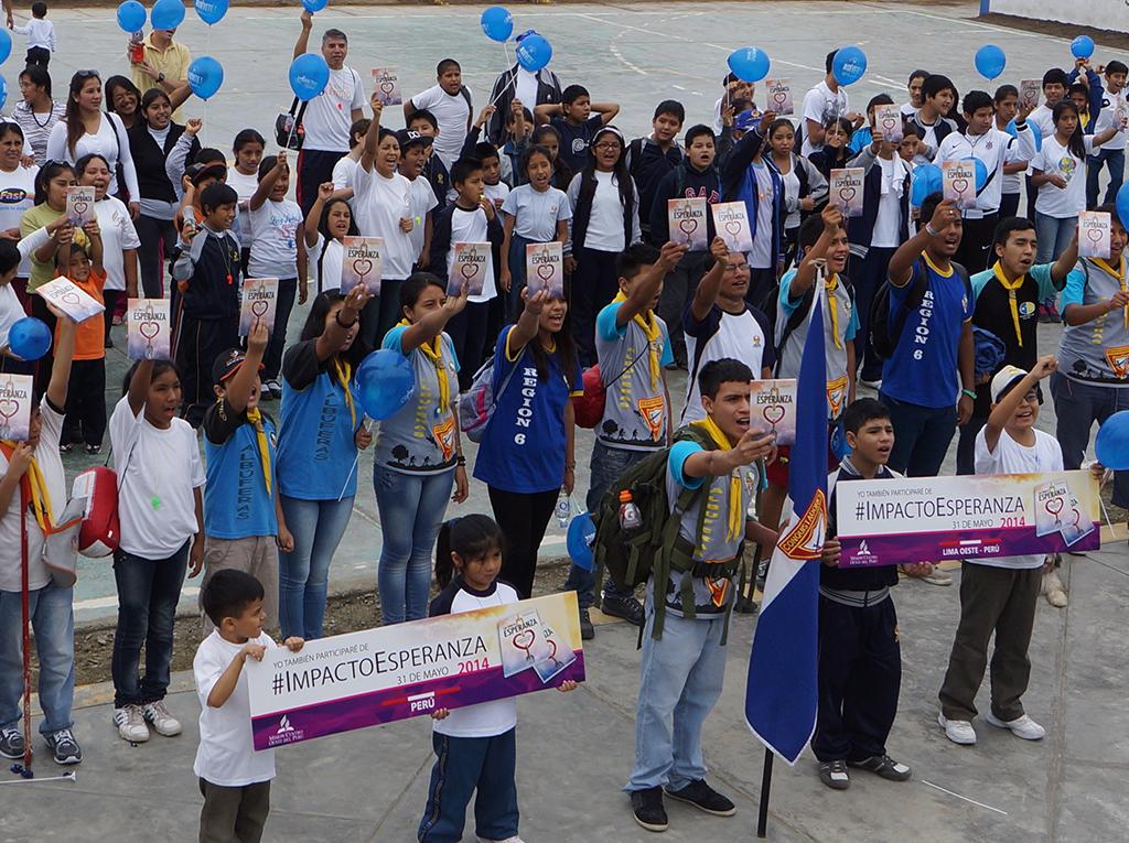 Promoción de la salud promueve Acciones Solidarias previas a Impacto Esperanza