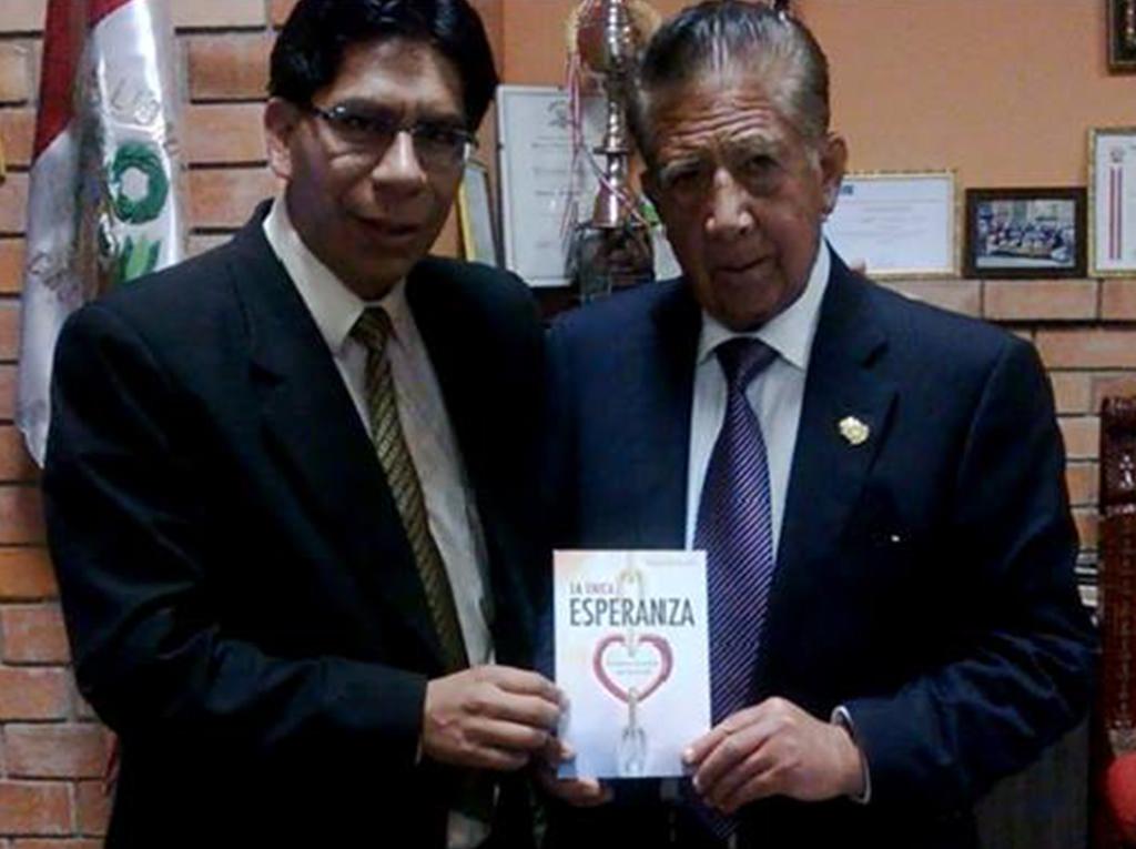 Alcalde de Cajamarca recibe la única esperanza y respalda proyecto Msión Caleb