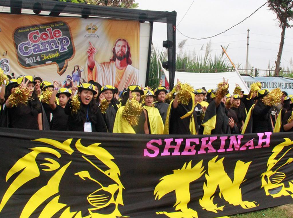 Campamento de alumnos adventistas en Perú fortalece la misión de la iglesia
