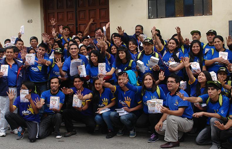 Proyecto Misión Caleb promueve la lectura en Cajamarca con el libro La Única Esperanza
