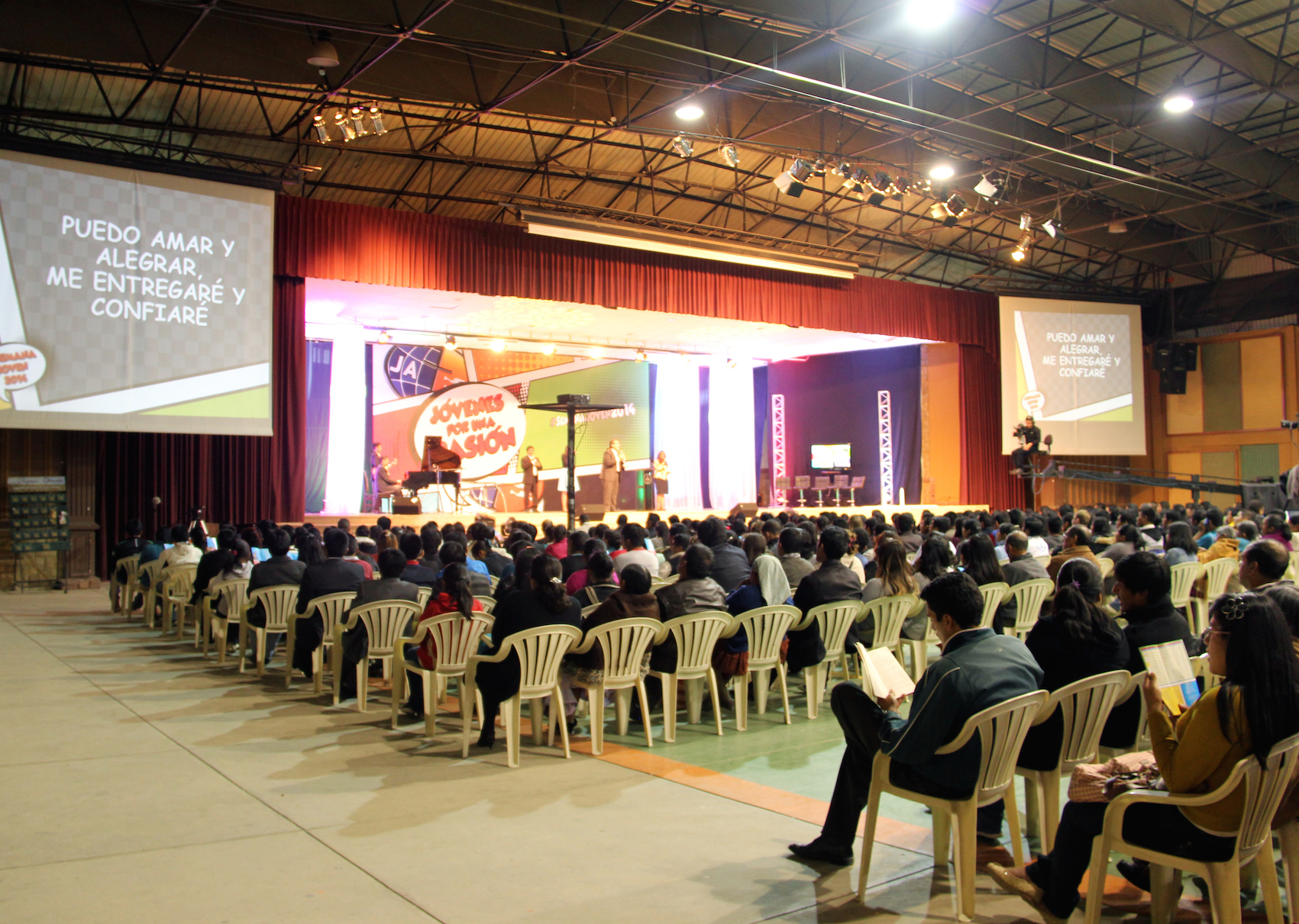 Coliseo de la Universidad Adventista da Bolivia