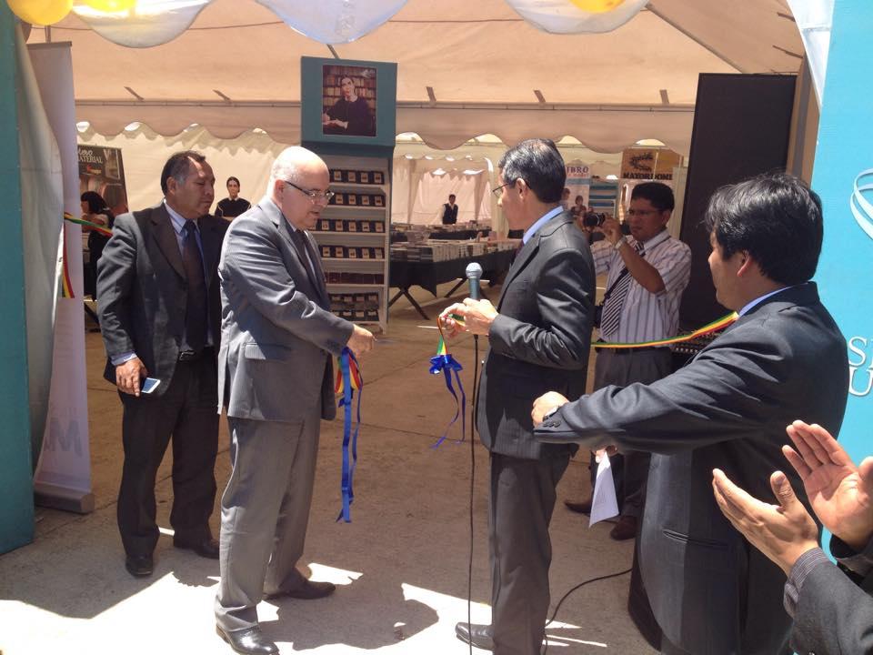 Almir Marroni en la inauguración del evento