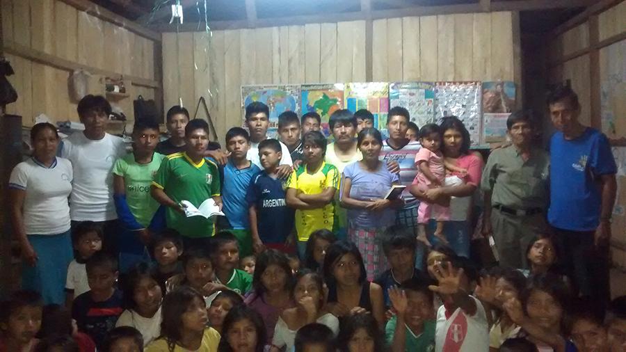 Campaña Viva con Esperanza llega a comunidad nativa