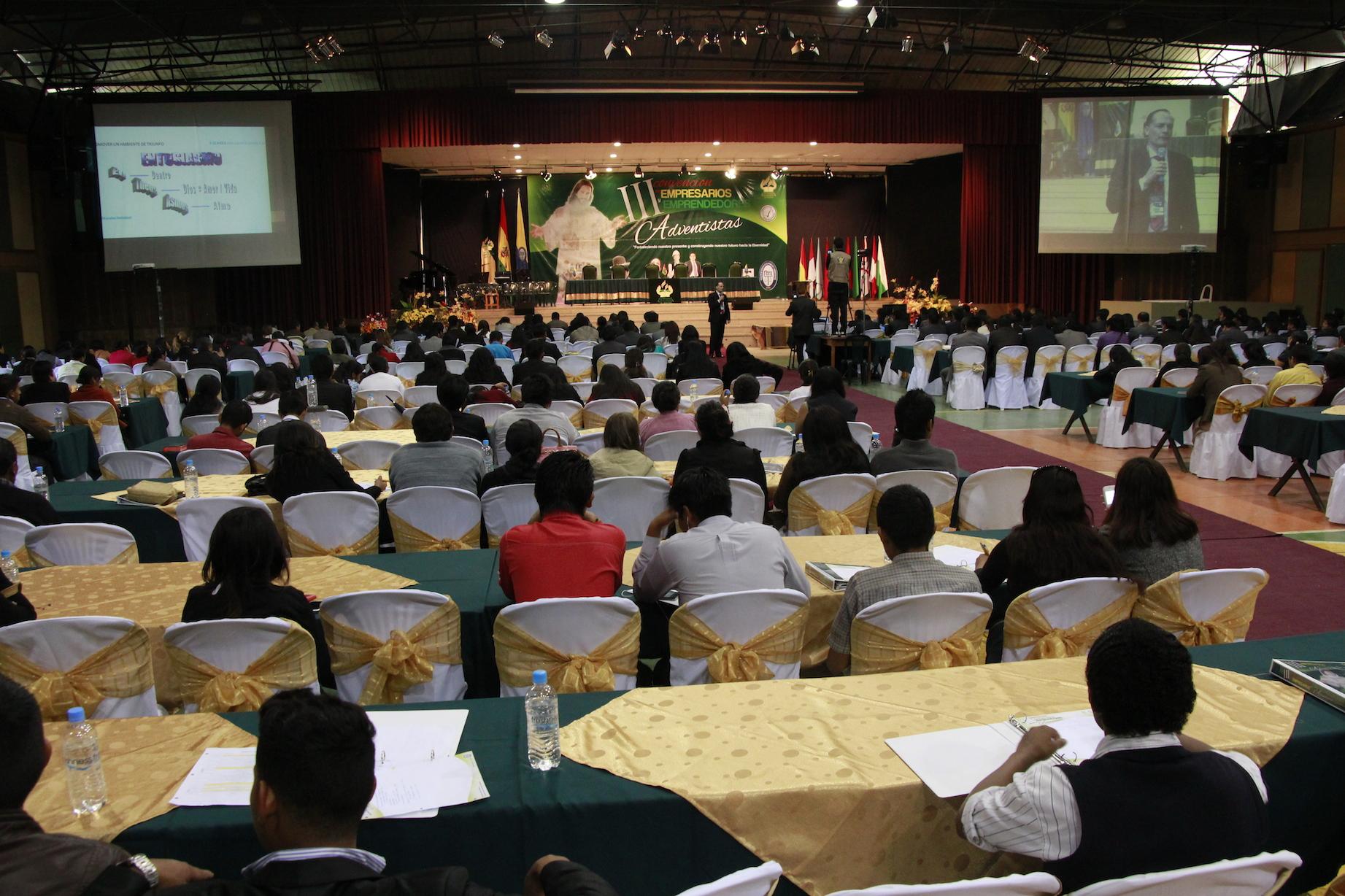 empresarios y emprendedores adventistas en la Universidad de Bolivia