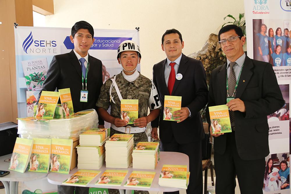 Institución adventista participó del Foro de Promoción de Estilos de Vida Saludable en Peru1