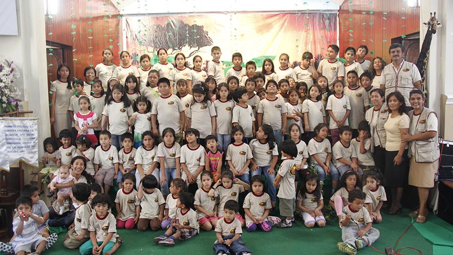 Escuela Cristiana de Vacaciones cambia vidas en el Norte del Peru