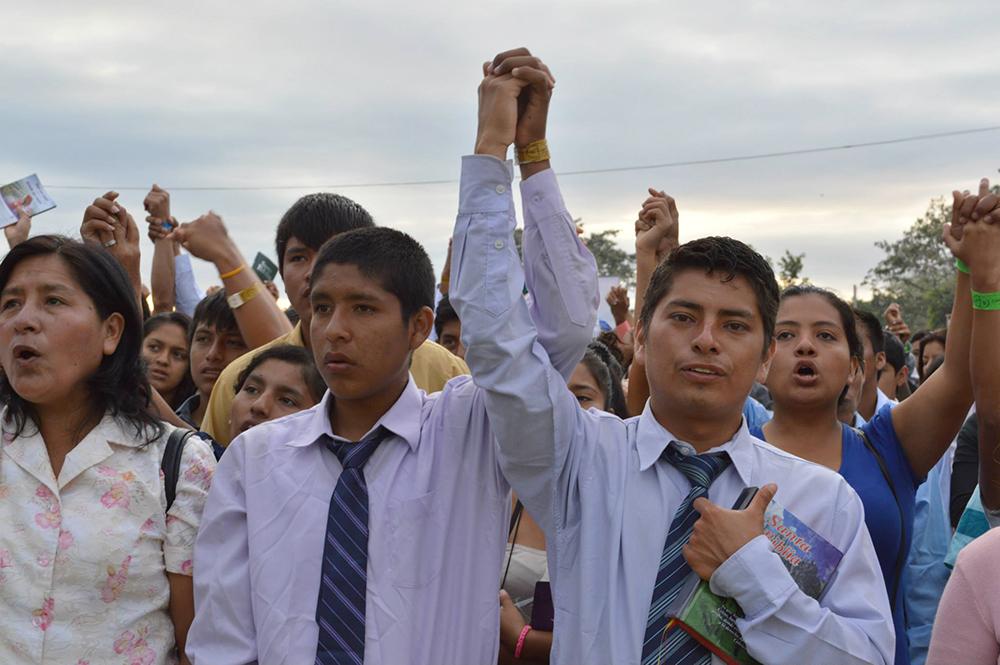 Jóvenes del norte del Perú disfrutaron del gran campamento Yo Soy el Mensaje3