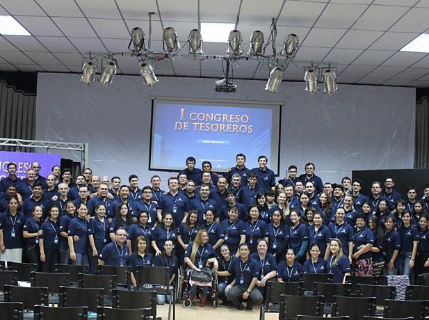 Tesoreros de iglesia de la Unión Paraguaya