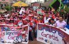 Actividades solidarias fueron realizadas por jóvenes entusiastas