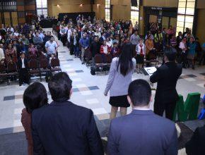 Cerca de 350 líderes participaron del evento. El objetivo de estimular la multiplicación de Grupos Pequeños hasta el 6 de agosto.