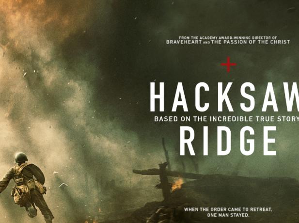La película refuerza la fidelidad de un adventista del séptimo día en medio de una batalla de la Segunda Guerra Mundial.