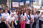 Jóvenes van a las calles a pedir paz y alertan contra la violencia