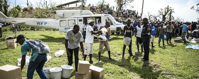 El huracán Matthew golpeó Haití el 1 de Octubre, matando a 500 personas y afectando la vida de 1.4 millones más.