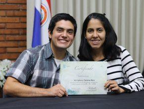 El curso, que es un requisito básico para casarse en la Iglesia Adventista, contó con cuatro parejas.