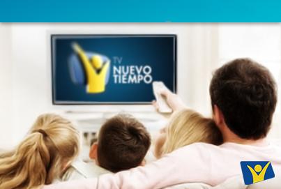 La programación de Nuevo Tiempo es direccionada a las familias abarcando áreas como salud, educación, entretenimiento e información.