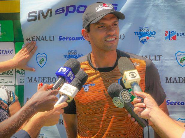 Vitor fue reconocido a nivel nacional actuando en el club Londrina.