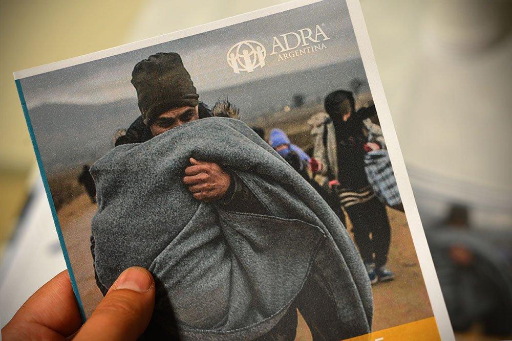 """Programa del encuentro """"Periodismo, medios y migraciones forzadas""""."""