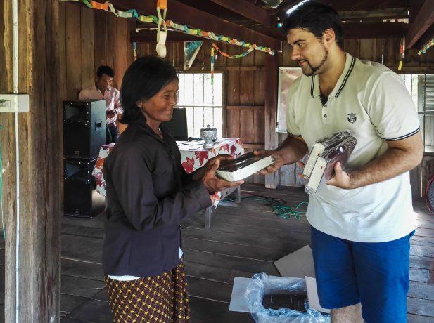 Manuel Perrotey, joven misionero dedicado a tiempo completo a la misión adventista en Asia.