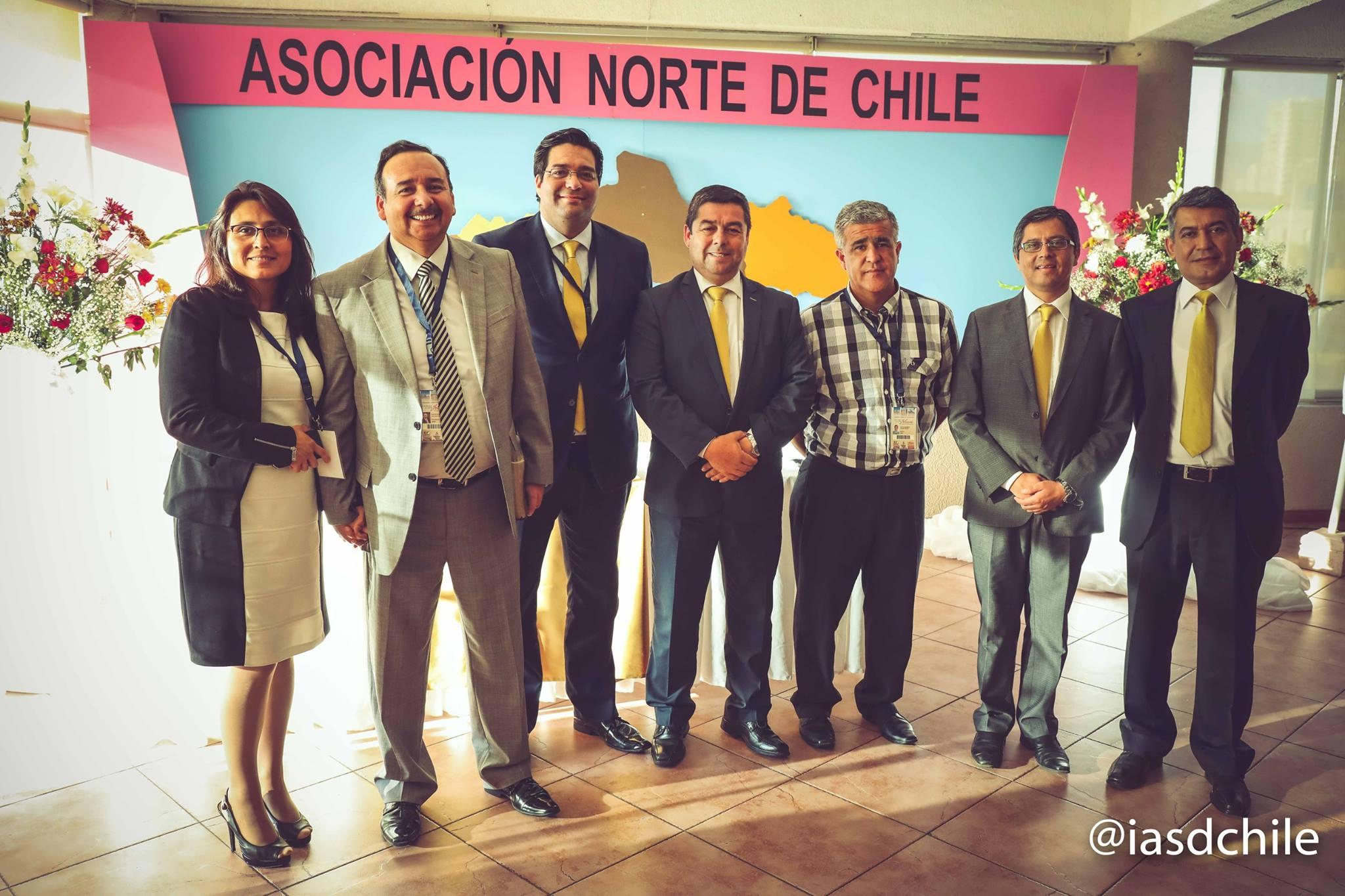 Equipo administrativo Asociación Norte de Chile