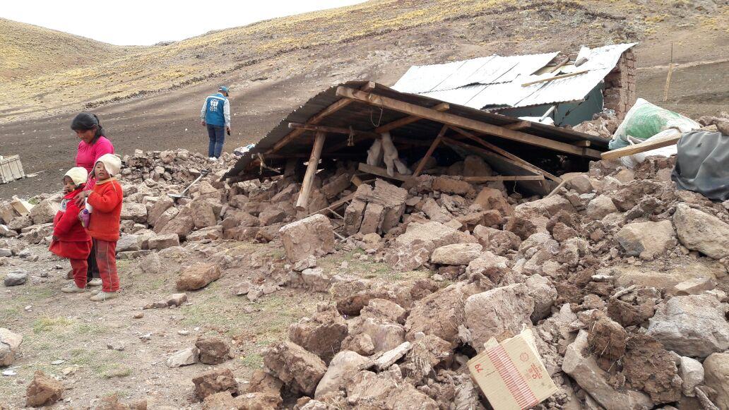 Sismo registró una magnitud de 5.5 grados en la escala de Richter.