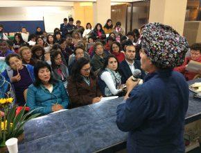 87 personas participaron del curso de comida saludable