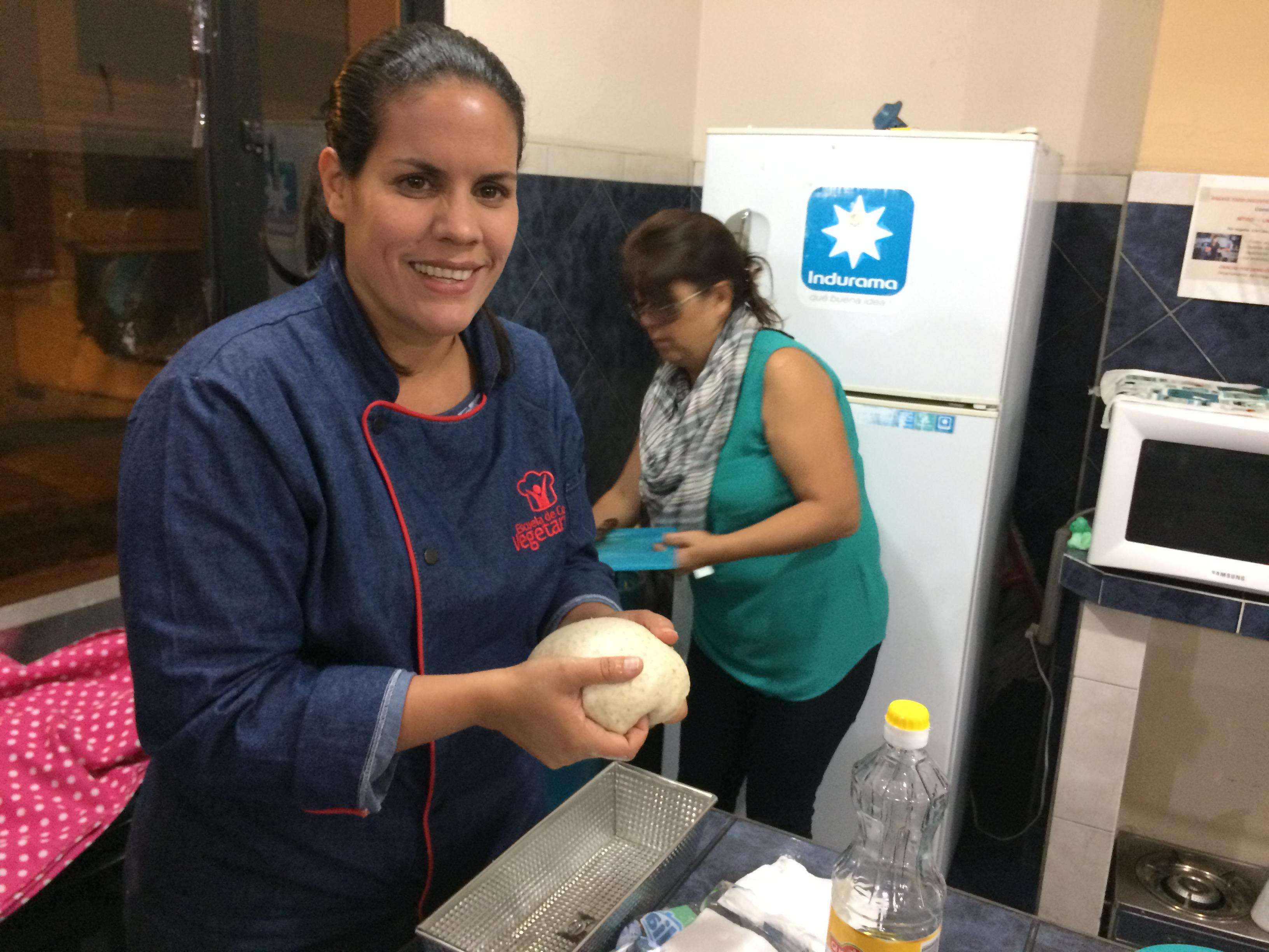 Chef Rocío Castro del programa Pruébalo de TV y Radio Nuevo Tiempo