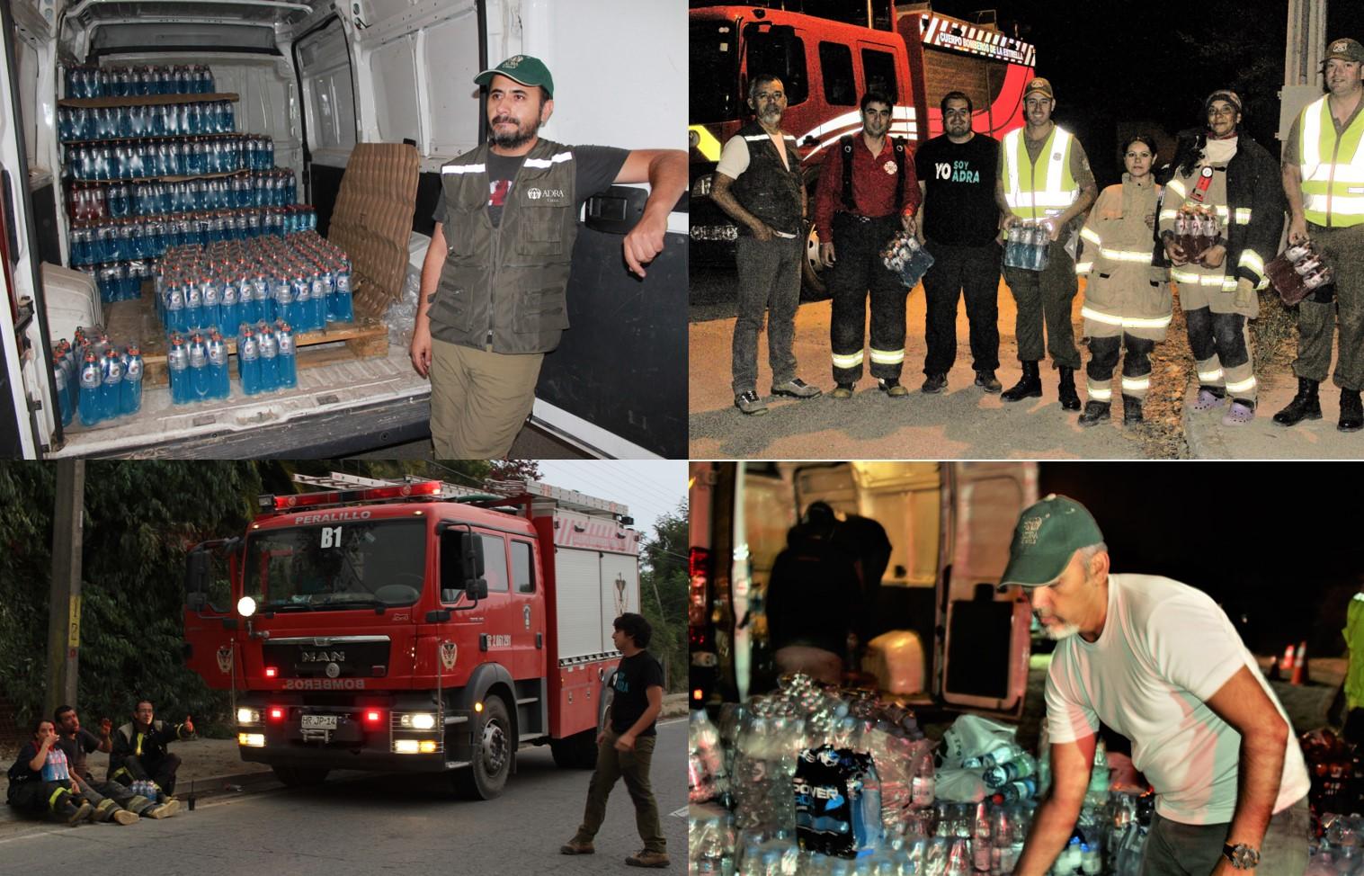 Momentos de apoyo a los profesionales que trabajan en situación de emergencia