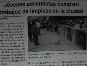 """Periódico """"La Patria"""" Oruro - Bolivia"""