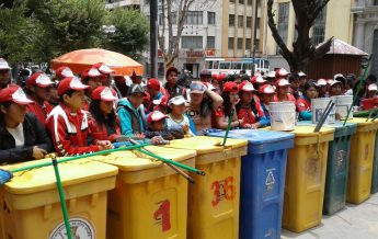 Jóvenes Calebs en Oruro - Bolivia