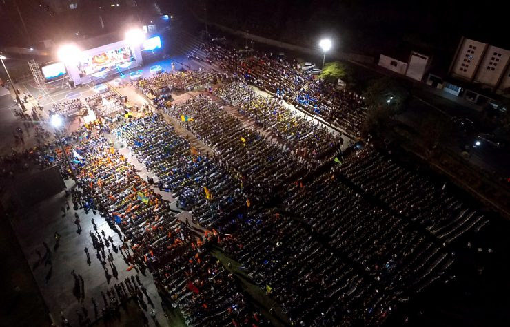 Más de 7 mil Conquistadores fortalecen comunión con Dios