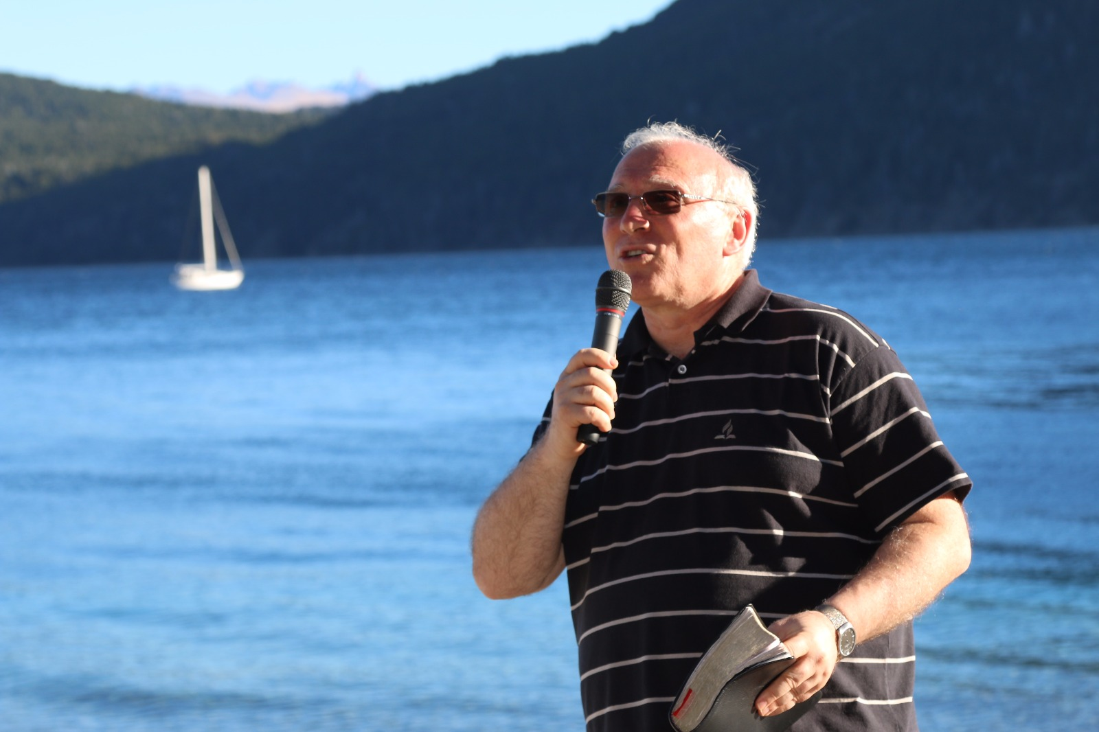 Fiesta de las Cabañas,Pastor Bruno Rasso en Peumeyén