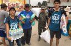 Voluntarios de agencia adventista se unen para ayudar a damnificados en Perú
