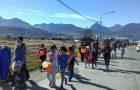Conquistadores y Aventureros participaron de caminata saludable