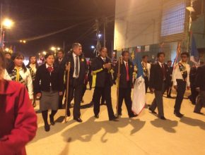 Caravana de Cosecha de Semana Santa en Viacha - La Paz