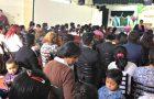 Miles de personas asistieron a las reuniones de Semana Santa