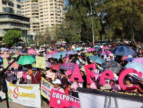 Desfile Rompiendo El Silencio Cochabamba - Bolivia