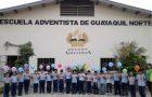 Escuelas adventista se capacitan para actuar en contra a la violencia